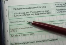 steuererklärung abgeben